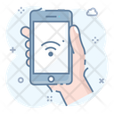 Handheld Phone Smartphone Cellphone Icon