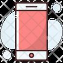 Mobile Smartphone Mobile Helpline Icon