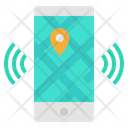 Smartphone Map Mobile Icon