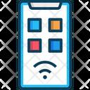 M Smartphone Smartphone Mobile Icon