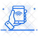 Smartphone Mobile Wifi Internet Connection Icon