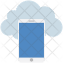 Cloud Computing Smartphone Icon
