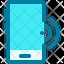 Mobile Phone Smartphone Home Control Icon