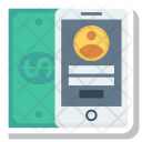 Smartphone Phone Mobilemoney Icon