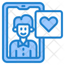 Smartphone Message Valentine Icon