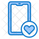 Smartphone Mobilephone Romance Icon