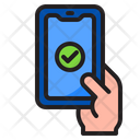 Smartphone Mobilephone Hand Icon