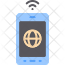 Smartphone Mobile Internet Icon