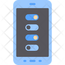 Smartphone Settings Menu Icon