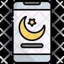 Smartphone Mobile Ramadan Icon