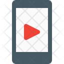 Smartphone Video Player Icon