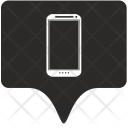 Smartphone Tag Place Icon