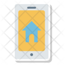 Smartphone Home House Icon