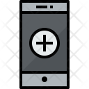 Smartphone Add Communication Icon