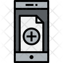 Smartphone Doc Add Icon