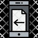 Smartphone Doc Left Icon