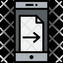 Smartphone Doc Right Icon