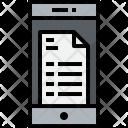 Smartphone Doc Communication Icon
