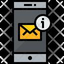 Smartphone Mail Notice Icon