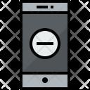 Smartphone Remove Communication Icon