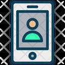 Smartphone Account Icon