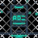 Smartphone Ad Icon