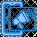Smartphone Advertising Icon