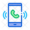 Smartphone Voip Calling Icon
