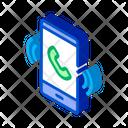 Smartphone White Business Icon