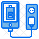 Smartphone Charger Energy Power Icon