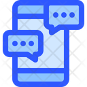 Help Support Smartphone Chat Icon