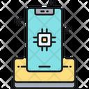 Smartphone Chip Icon