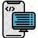 Smartphone Coding Icon