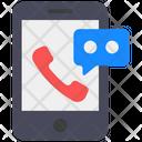 Smartphone Communication Telecommunication Mobile Messaging Icon