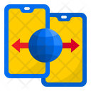 Smartphone Connection Smartphone Transfer Icon