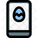 Smartphone Easter Icon