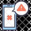 Smartphone Error Alert Icon