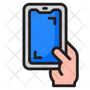 Smartphone In Hand Icon