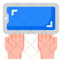 Smartphone In Hands Icon