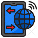 Smartphone Internet Connection Icon