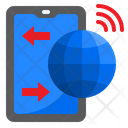 Smartphone Internet Connection Smartphone Mobilephone Icon
