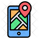 Smartphone Location Icon