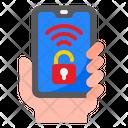 Smartphone Lock Smartphone Mobilephone Icon