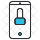 Smartphone locked Icon