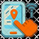 Smartphone Map Icon