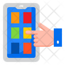 Smartphone Marketing Smartphone Mobilephone Icon