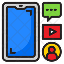 Smartphone Media Icon
