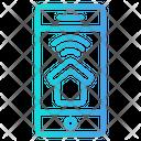 Smartphone Mobile Control Icon