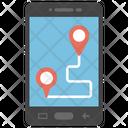Smartphone Navigation Icon