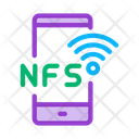 Smartphone Nfc Payment Icon